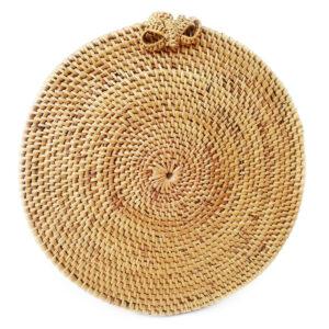 Кругла сумочка з ротанга BaliBags BB0380